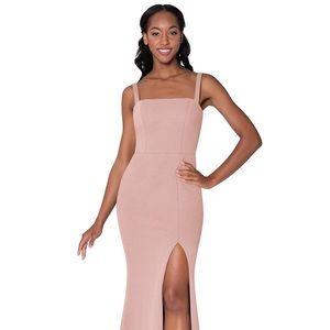 Azazie Dusty Rose A2 Gianetta Dress